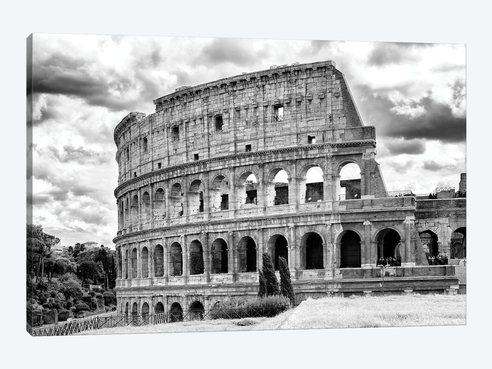 Colosseum In Black & White by Philippe Hugonnard 1-piece Art Print