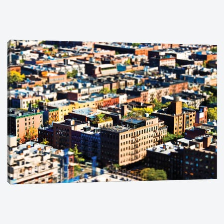 Tilt Shift - Manhattan Buildings Canvas Print #PHD512} by Philippe Hugonnard Canvas Artwork