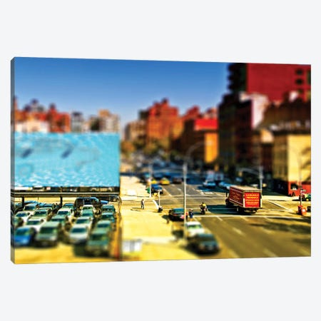 Tilt Shift - Manhattan  Canvas Print #PHD513} by Philippe Hugonnard Canvas Wall Art