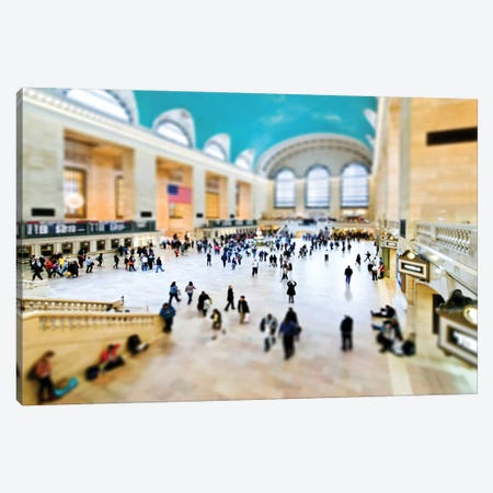 Tilt Shift - Grand Central Terminal Canvas Print #PHD515} by Philippe Hugonnard Canvas Art Print