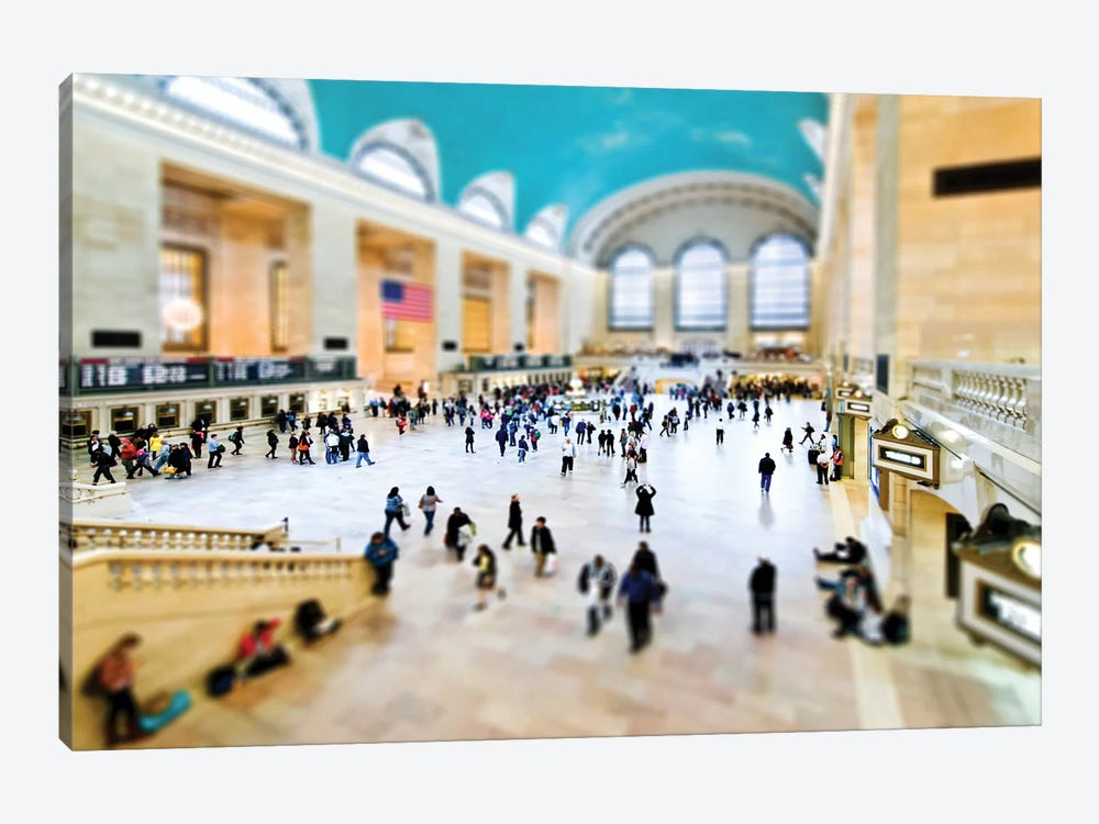 Grand Central Terminal by Philippe Hugonnard 1-piece Canvas Art