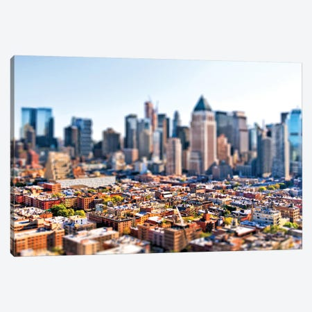 Tilt Shift - New York City Canvas Print #PHD516} by Philippe Hugonnard Art Print