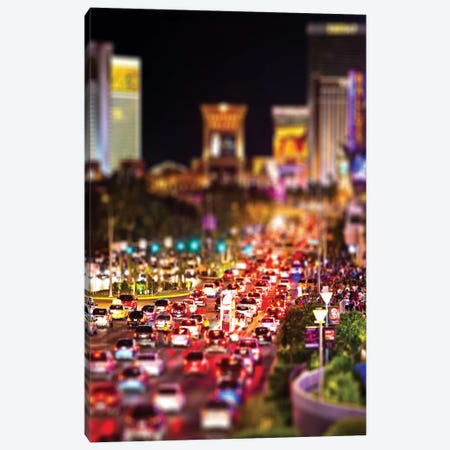 Tilt Shift - Las Vegas Canvas Print #PHD517} by Philippe Hugonnard Canvas Art Print