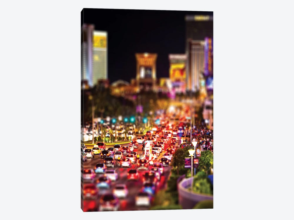 Las Vegas by Philippe Hugonnard 1-piece Canvas Artwork