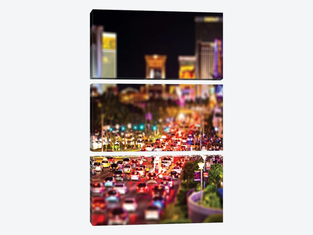 Las Vegas by Philippe Hugonnard 3-piece Canvas Wall Art
