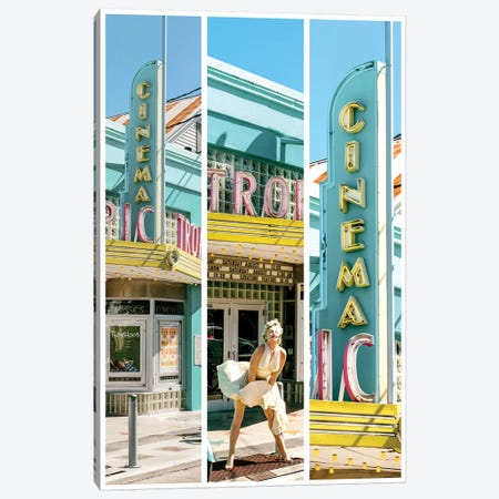 Key West Triptych - Marilyn Canvas Print #PHD521} by Philippe Hugonnard Art Print