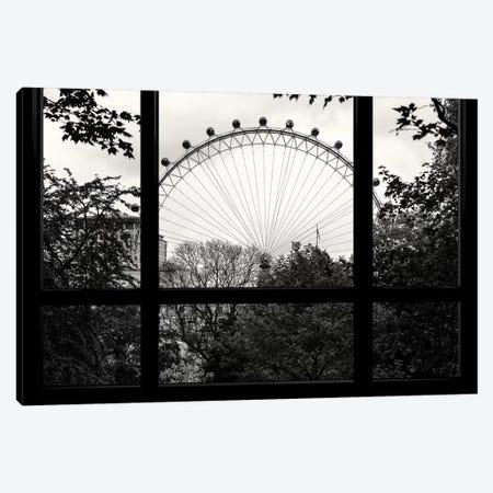 London Eye Canvas Print #PHD522} by Philippe Hugonnard Art Print