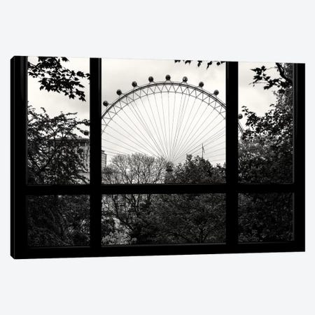 Loft Window View - London Eye Canvas Print #PHD522} by Philippe Hugonnard Art Print