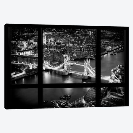 Loft Window View -The Beauty Of London Canvas Print #PHD525} by Philippe Hugonnard Canvas Art