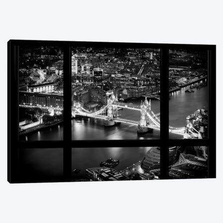 Loft Window View -The Beauty Of London Canvas Print #PHD525} by Philippe Hugonnard Canvas Art