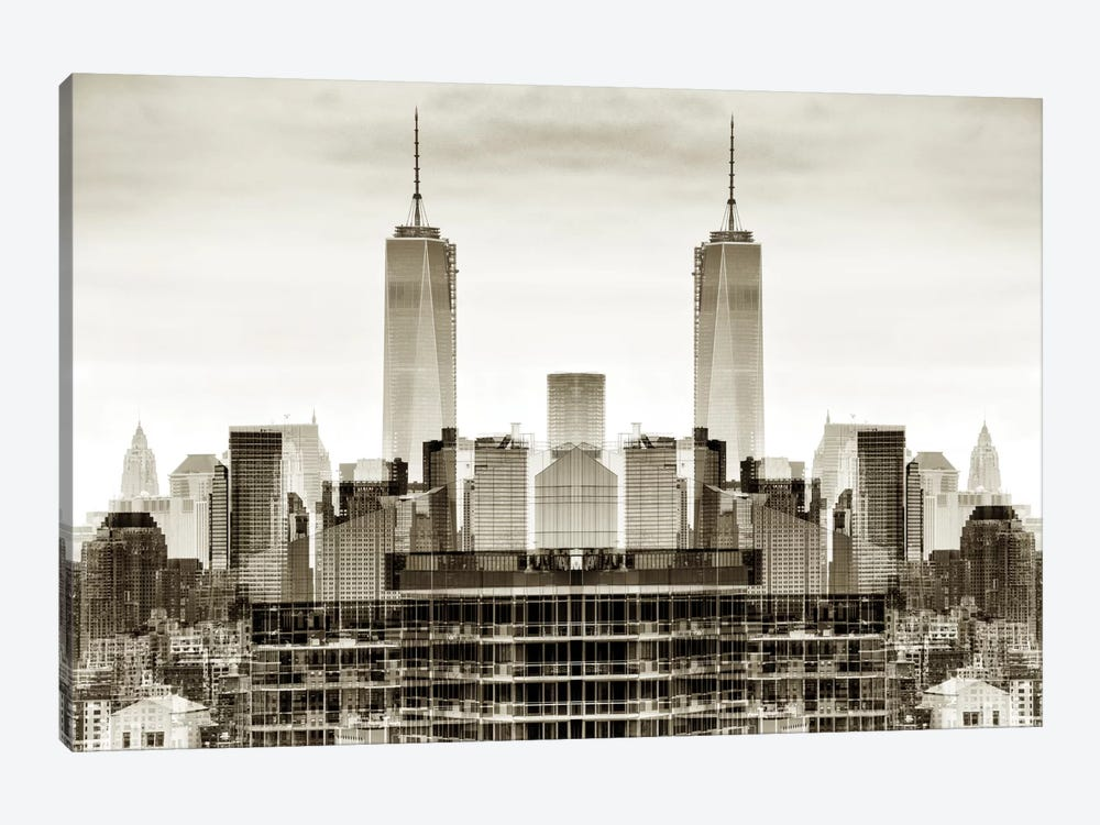 New York Reflection - One World Trade Center 1-piece Art Print