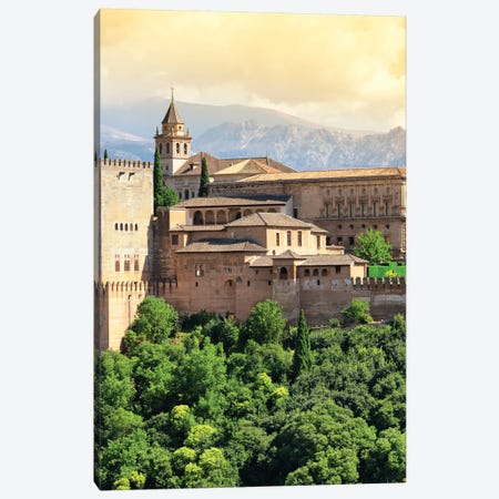 The Alhambra - Granada Canvas Print #PHD537} by Philippe Hugonnard Canvas Art Print