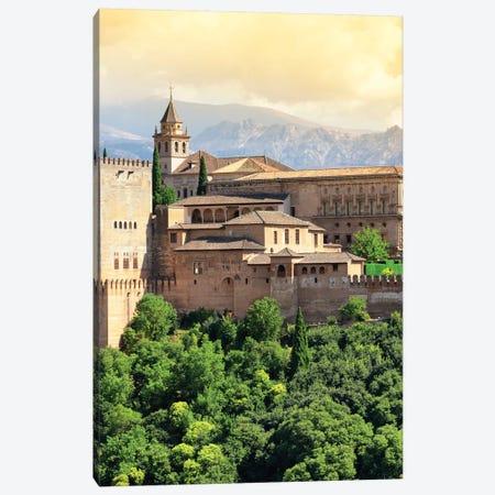 The Alhambra - Granada Canvas Print #PHD537} by Philippe Hugonnard Canvas Art Print
