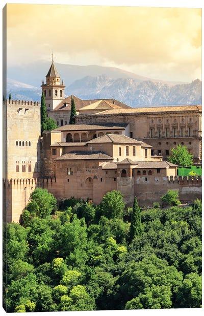 The Alhambra - Granada Canvas Art Print