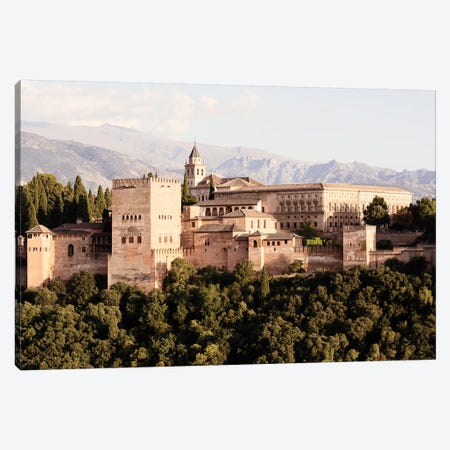 The Majesty of Alhambra I Canvas Print #PHD538} by Philippe Hugonnard Canvas Wall Art