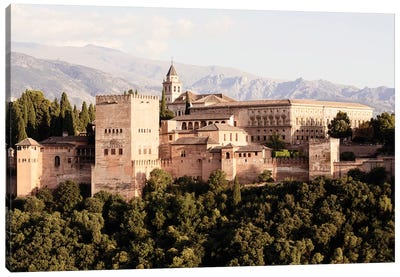 The Majesty of Alhambra I Canvas Art Print