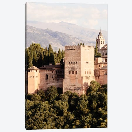 The Majesty of Alhambra II Canvas Print #PHD539} by Philippe Hugonnard Canvas Wall Art