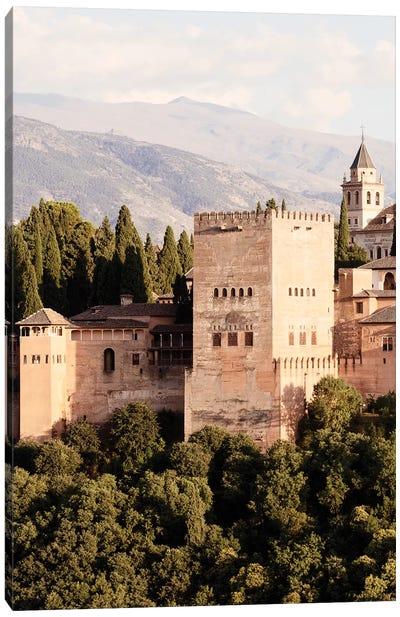 The Majesty of Alhambra II Canvas Art Print