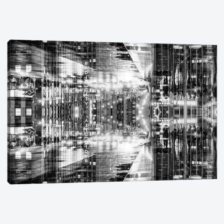 New York Reflection - Radio City Canvas Print #PHD53} by Philippe Hugonnard Canvas Print