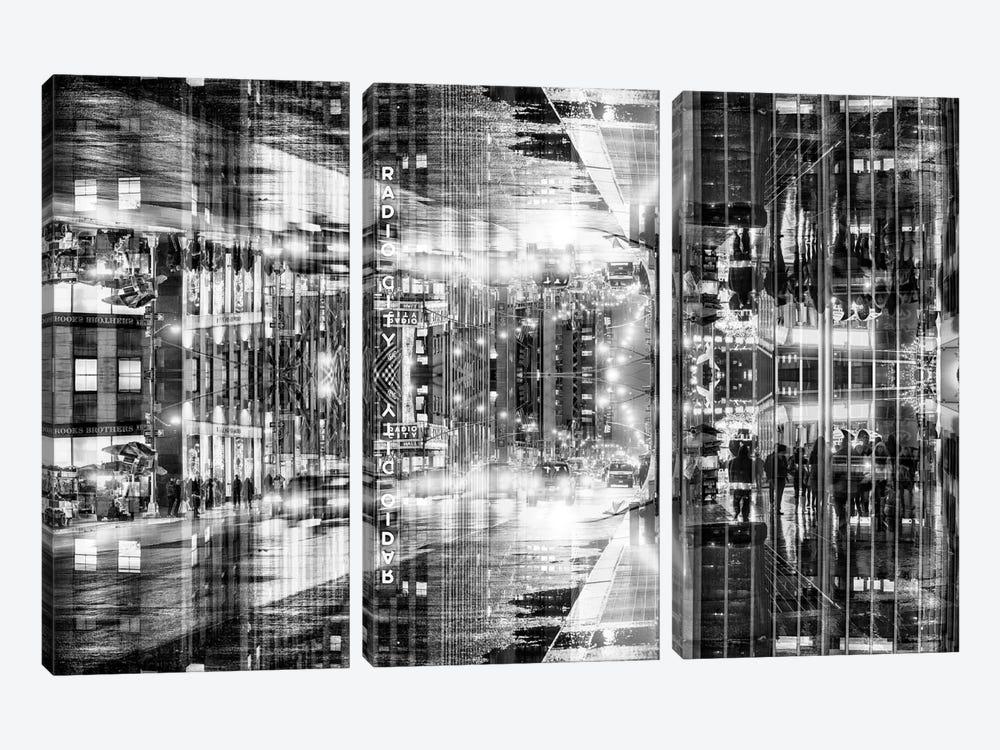 Radio City by Philippe Hugonnard 3-piece Canvas Wall Art