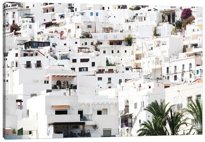 White Village of Mojacar I Canvas Art Print