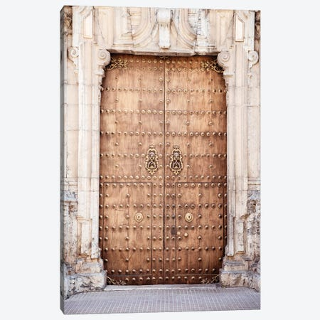 Old Wooden Door to Cordoba Canvas Print #PHD550} by Philippe Hugonnard Canvas Art