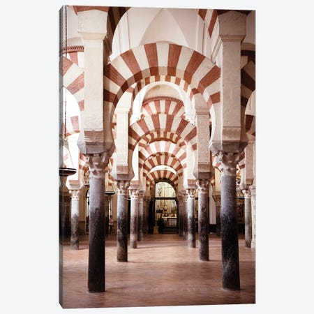 Columns Mosque-Cathedral of Cordoba Canvas Print #PHD551} by Philippe Hugonnard Canvas Wall Art