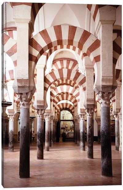 Columns Mosque-Cathedral of Cordoba Canvas Art Print