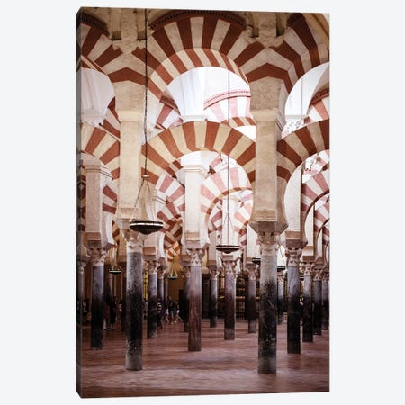Columns Mosque-Cathedral of Cordoba II Canvas Print #PHD552} by Philippe Hugonnard Canvas Art