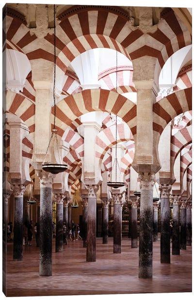 Columns Mosque-Cathedral of Cordoba II Canvas Art Print