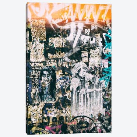 Graffiti Wall Canvas Print #PHD553} by Philippe Hugonnard Canvas Wall Art