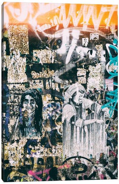 Graffiti Wall Canvas Art Print