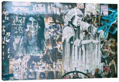 Graffiti Wall II Canvas Art Print