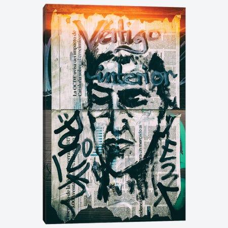 Graffiti Wall Papers Canvas Print #PHD555} by Philippe Hugonnard Canvas Art Print
