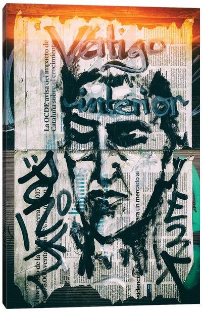 Graffiti Wall Papers Canvas Art Print