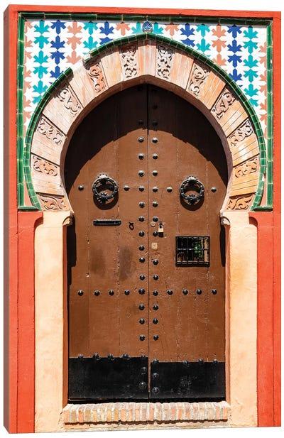 Arabic Door Canvas Art Print