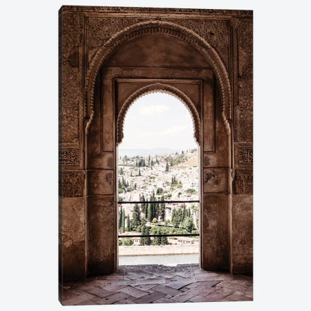 View of the city of Granada Canvas Print #PHD557} by Philippe Hugonnard Canvas Print