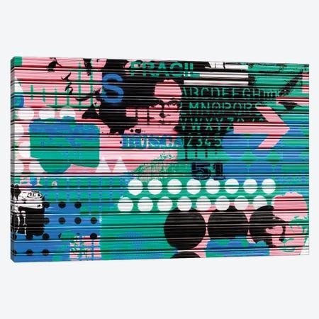 Colourful Curtain Art Canvas Print #PHD562} by Philippe Hugonnard Art Print