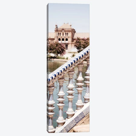 Details of The Plaza de Espana Canvas Print #PHD564} by Philippe Hugonnard Canvas Art