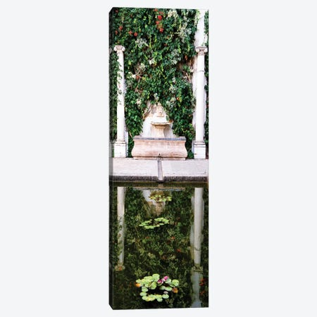 Fountain in the Gardens of Real Alcazar Canvas Print #PHD565} by Philippe Hugonnard Canvas Art