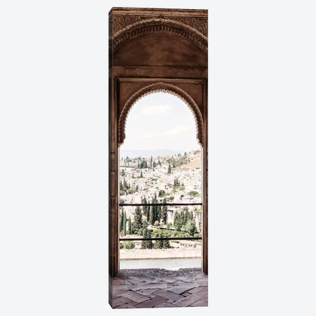 View of the city of Granada Canvas Print #PHD568} by Philippe Hugonnard Canvas Print