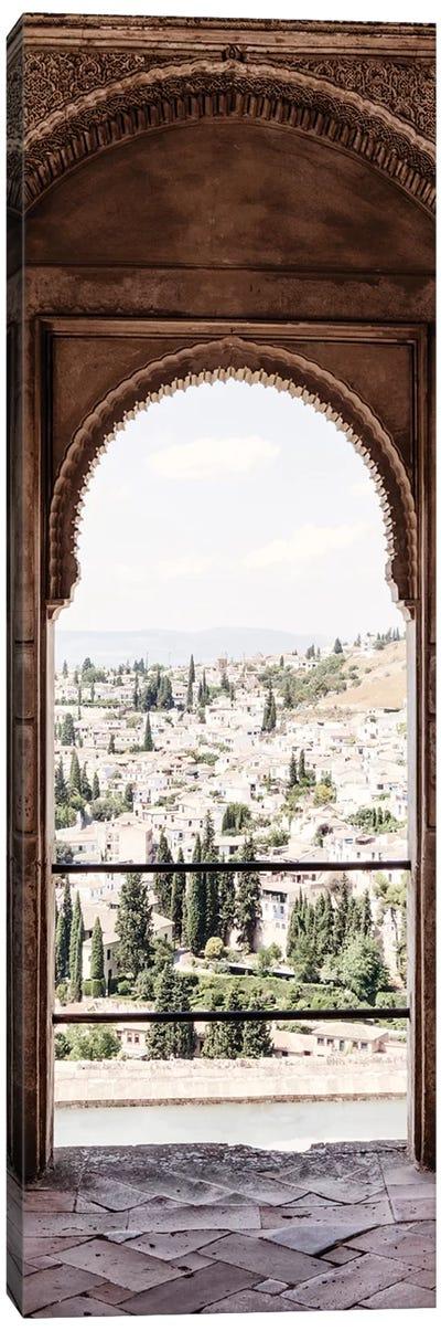 View of the city of Granada Canvas Art Print