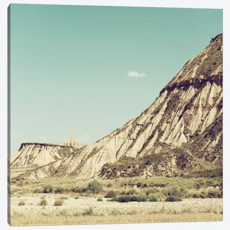 Made in Spain Square  - Bardenas Reales Canvas Print #PHD570} by Philippe Hugonnard Canvas Art