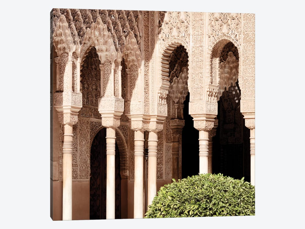 Arabic Arches in Alhambra by Philippe Hugonnard 1-piece Canvas Wall Art