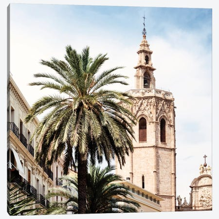 Valencia Cathedral Canvas Print #PHD575} by Philippe Hugonnard Canvas Art Print