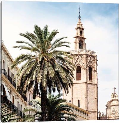 Valencia Cathedral Canvas Art Print