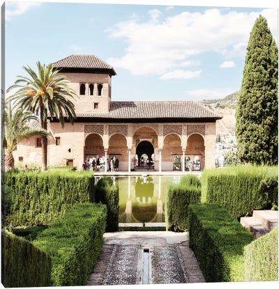 Partal Gardens of Alhambra Canvas Art Print