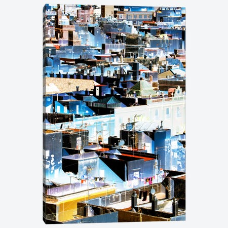 Blue Cadiz Architecture Canvas Print #PHD583} by Philippe Hugonnard Canvas Print
