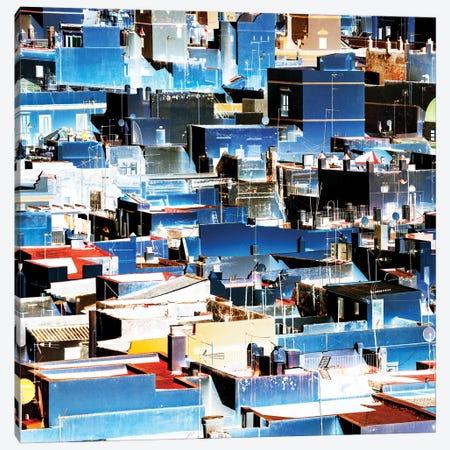 Blue Cadiz Canvas Print #PHD587} by Philippe Hugonnard Canvas Wall Art