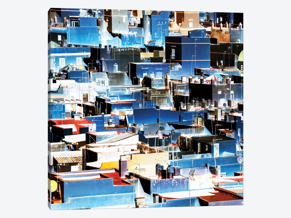 Blue Cadiz by Philippe Hugonnard 1-piece Canvas Print